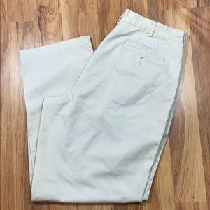 3/$20 J. Crew Pleated Khakis Mens Size 36 Beige